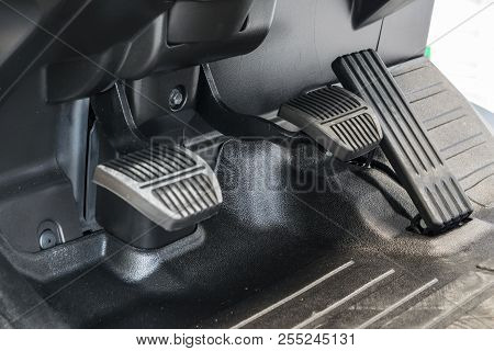 Accelerator, Brake Pedal And Accelerator Pedal Of Forklift