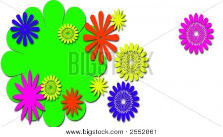 Neon Flowers Of Fun