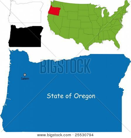 State of Oregon, USA