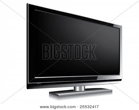 LCD television BLANK