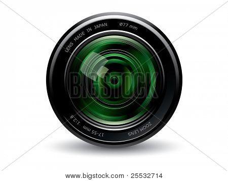 Camera lens GREEN