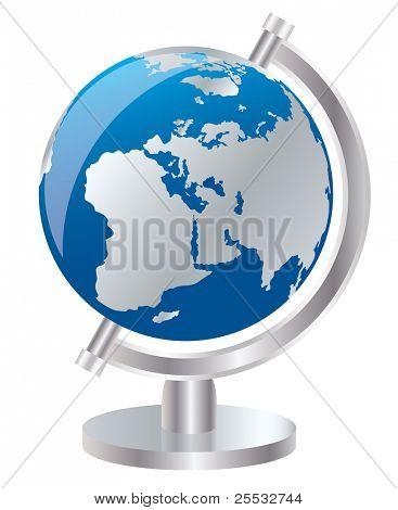 Vector of earth globe