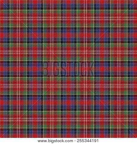Caledonia Tartan Pattern. Scottish Cage. Scottish Checkered Background. Traditional Scottish Ornamen