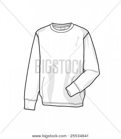 Colorable sweatshirt, front