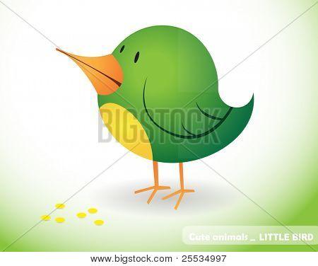 Little cute bird