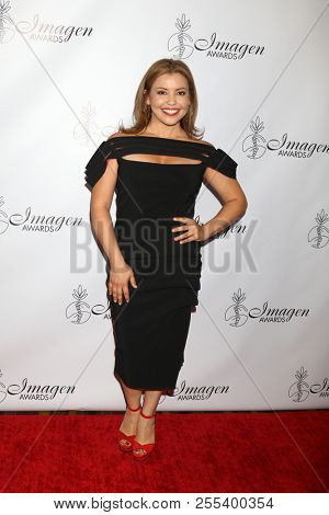 LOS ANGELES - AUG 25:  Justina Machado at the 33rd Annual Imagen Awards at the JW Marriott Hotel on August 25, 2018 in Los Angeles, CA