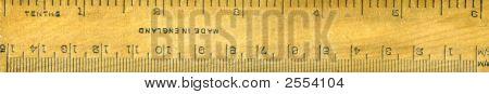 Six Inch Ruler