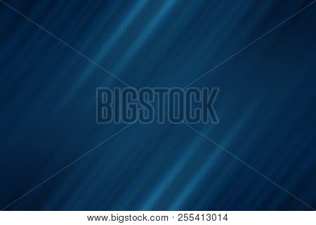 Dark Blue Abstract Glass Texture Background, Design Pattern Template With Copyspace