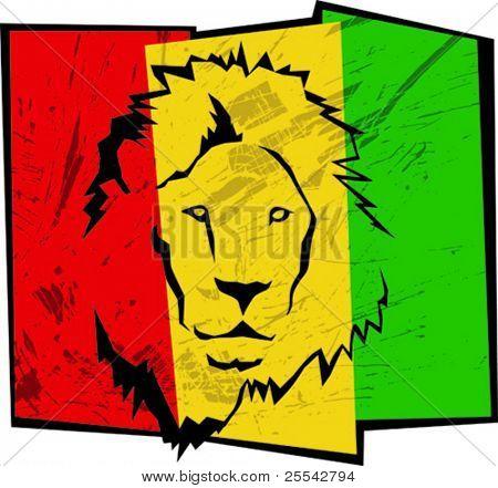 Reggae background. Vector illustration.