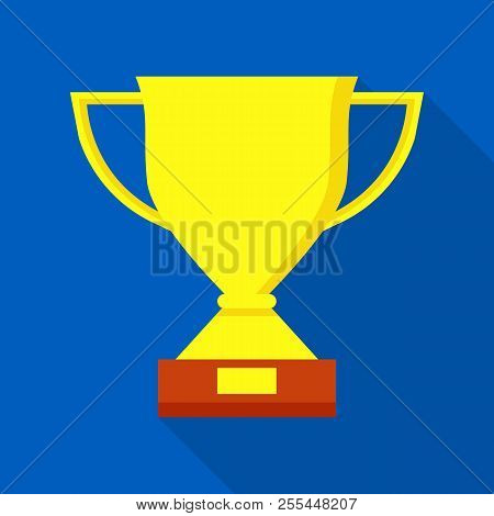 Sport Trophy Icon. Flat Illustration Of Sport Trophy Icon For Web