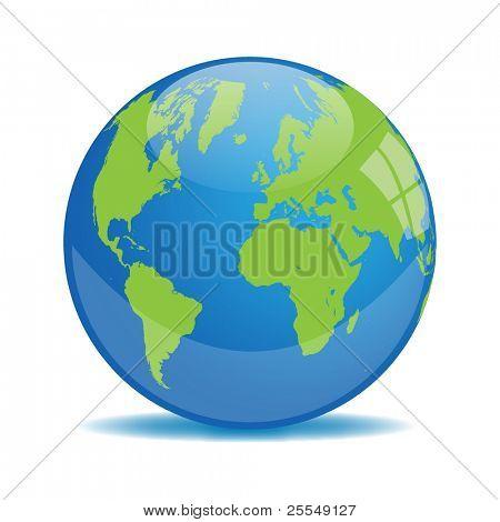 Earth Orb Vector