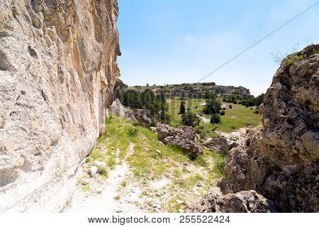 Landscape Phrygia Valley In Turkey