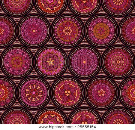 Seamless old-fashioned pattern