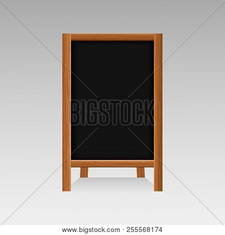 Realistic Wooden Vector Photo Free Trial Bigstock