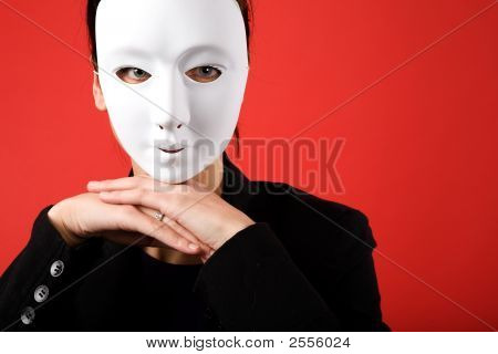 Anonymous Business Woman