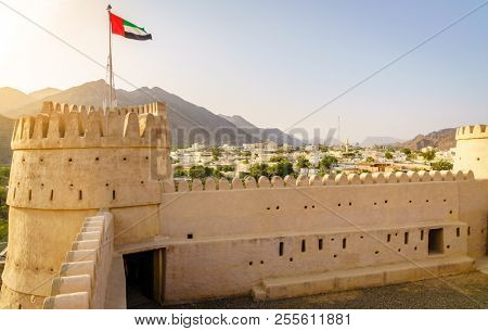 Al-Bithnah Fort in the emirate of Fujairah, UAE