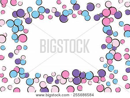 Polka Dot Frame Comic Vector & Photo (Free Trial) | Bigstock