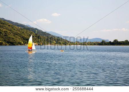 Sail Over The Lake