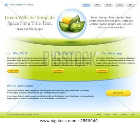 website template for healthcare, pharmacy or medical company