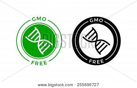 Gmo Free Icon Vector Vector Photo Free Trial Bigstock