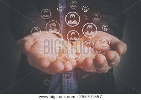 Customer Care, Care For Employees, Human Resources, Employment Agency And Marketing Segmentation Con