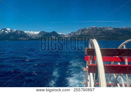 Lake Tahoe Is A Freshwater Lake In The Sierra Nevada Of The United States. It Straddles The State Li