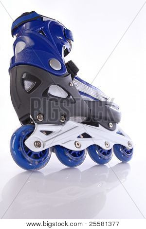 blue rollerscates