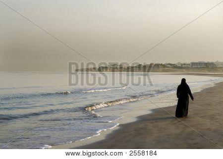 Вечерняя прогулка на море