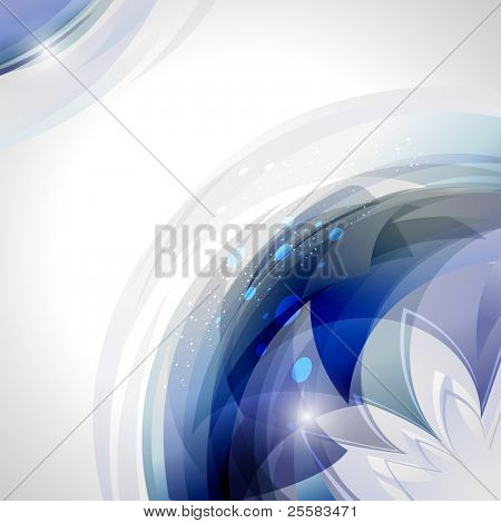 abstract   Square blue motion background