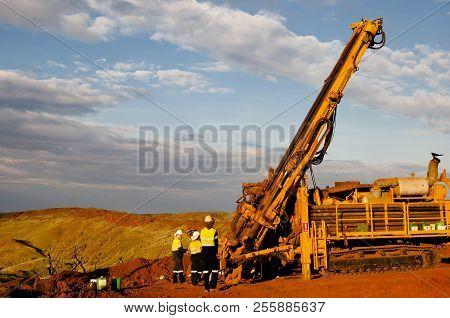 Exploration Rc Drill Rig - Western Australia