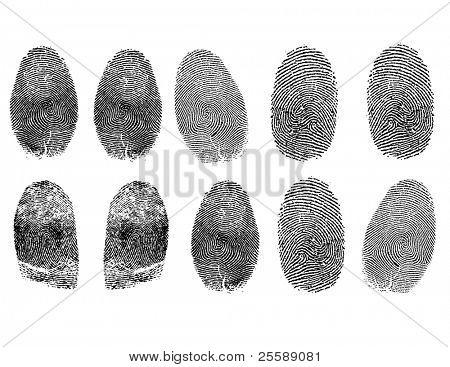realistic fingerprints