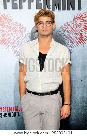 LOS ANGELES - AUG 28:  Garrett Clayton at the