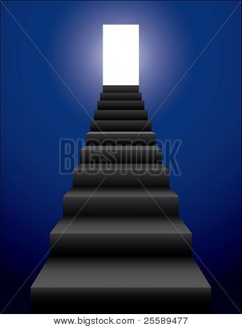 Raster stairs
