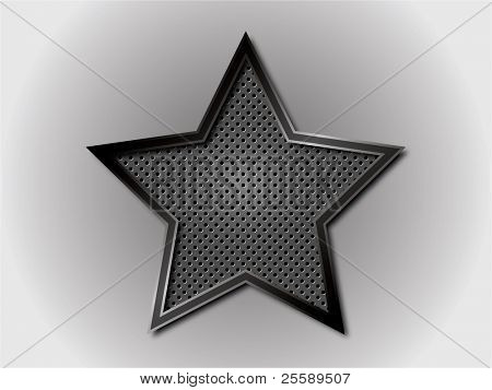 Vector star with grill