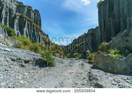 Rock Needles At Putangirua Pinnacles, Wairarapa, New Zealand 25