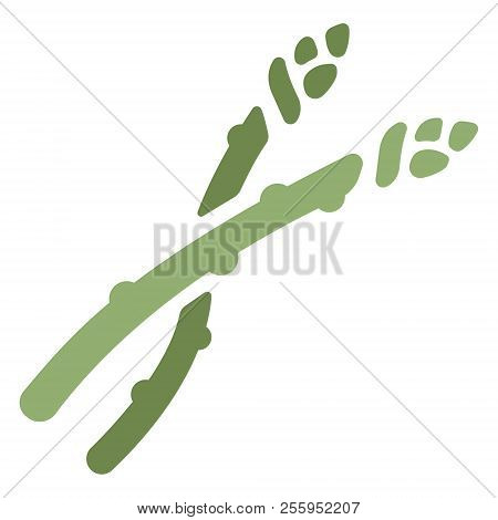 Green Asparagus Icon Vector Photo Free Trial Bigstock