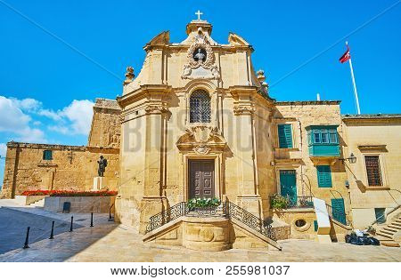 The Chapel  Of Our Lady Of Victories (st Anthony The Abbot) Is One Of The Oldest City Buildings, Loc