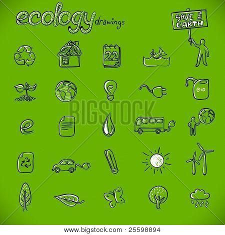 ecology drawings / symbols