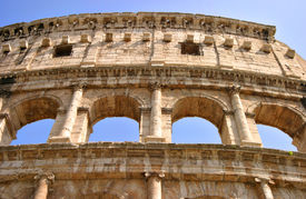 Colosseum In Rome, Detail