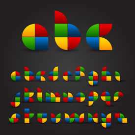 Decorative Alphabet Set