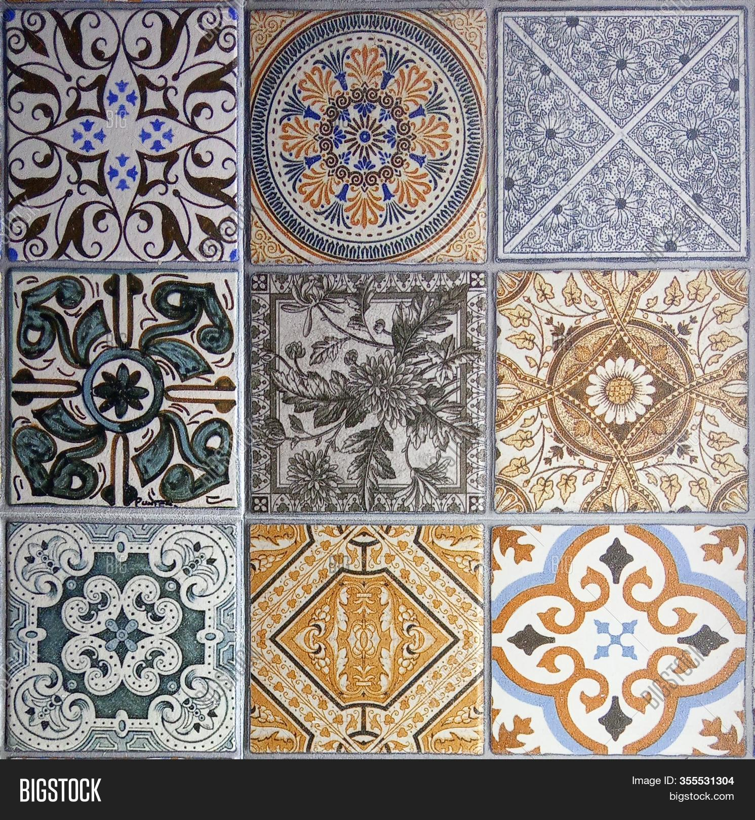 Ceramic Tile Design Image Photo