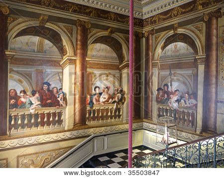 Staircase Inside Kensington Palace, London