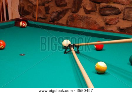 15 Ball In The Corner Pocket