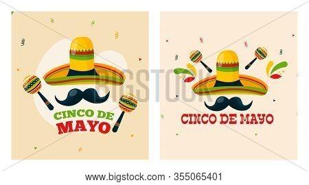 Cinco De Mayo Background Illustration Vector