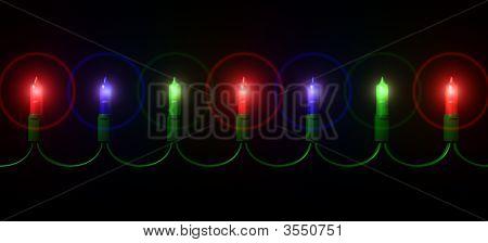 Mini Christmas Light String