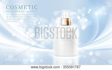 Cosmetic Bottles_elegant Blue 07