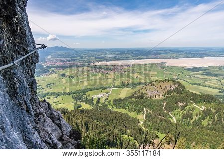 Hiking And Climbing On The Tegelberg
