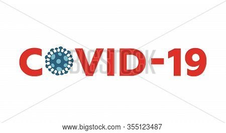 Coronavirus 2019-ncov Vector Flat Design. Wuhan Virus. Web Banner Concept. Awareness, Prevent, Infor