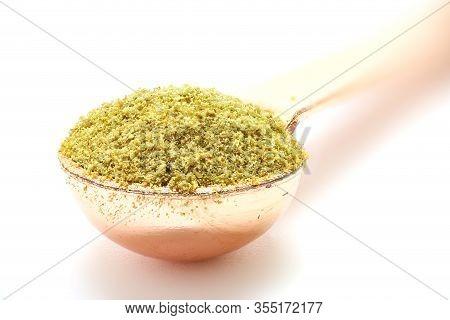Cumin Spice, Isolated Cumin In A Spoon