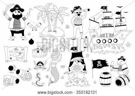 Vector Pirate Set
